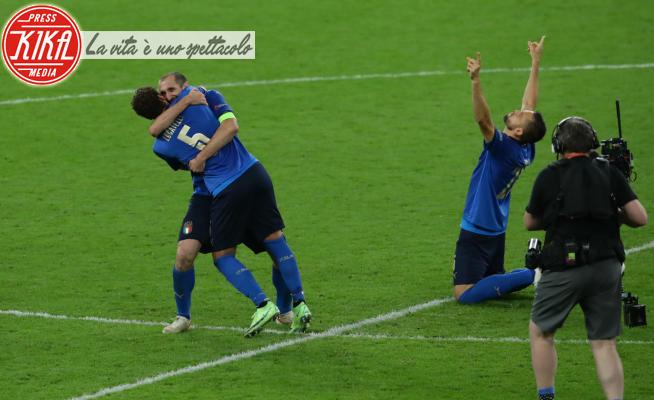 Giorgio Chiellini - Londra - 06-07-2021 - Italia-Spagna, vittoria ai rigori: l'11 in finale a Wembley