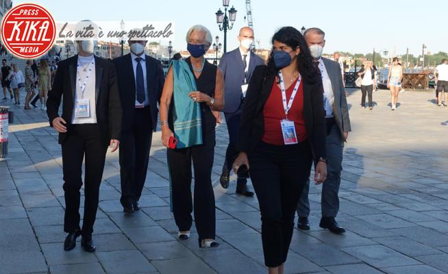 G20 Economia e finanza, Ursula von der Leyen - Venezia - 09-07-2021 - Venezia blindata per il G20 dell'Economia e della Finanza