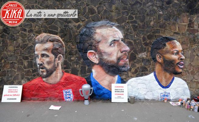 murales euro 2020 - Nuneaton - 10-07-2021 - Euro 2020: l'Inghilterra ci crede, It's coming home
