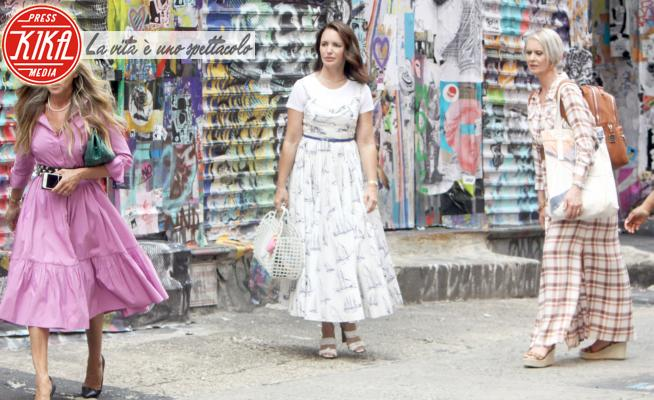Kristen Davis, Cynthia Nixon, Sarah Jessica Parker - New York - 20-07-2021 - And just like that, le prime immagini dal set