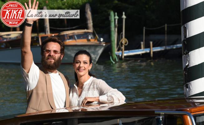 Barbara Ronchi, Alessandro Borghi - Lido di Venezia - 02-09-2021 - Alessandro Borghi cambia look: barba e capelli lunghi