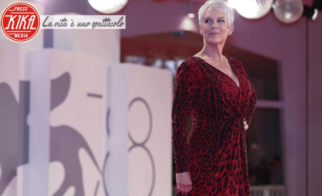 Jamie Lee Curtis - Venezia - 03-02-2021 - Leone e leopardo, la serata animalier di Jamie Lee Curtis
