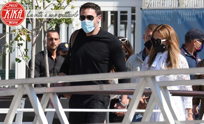 Jennifer Lopez, Ben Affleck - Venezia - 09-09-2021 - Jennifer Lopez e Ben Affleck, a Venezia mano nella mano