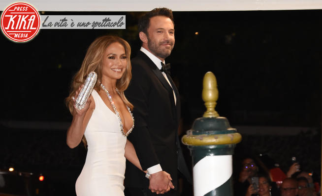 Jennifer Lopez, Ben Affleck - Venezia - 10-09-2021 - Jennifer Lopez e Ben Affleck: la coppia più bella del mondo...