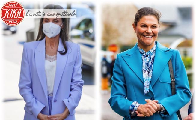 Principessa Victoria di Svezia, Letizia Ortiz - 22-09-2021 - Letizia di Spagna e Victoria di Svezia: chi lo indossa meglio?