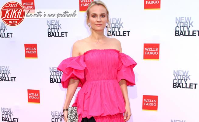 Diane Kruger - New York - 30-09-2021 - Diane Kruger rosa shocking per il NYC Ballet Fall Fashion Gala