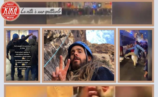 Jared Leto - 11-10-2021 - Jared Leto, Vacanze Romane tra i disordini #nogreenpass
