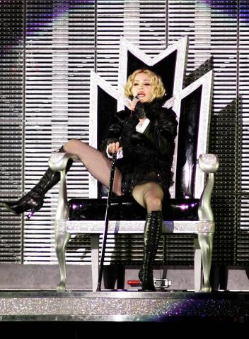 Madonna - Miami - 26-11-2008 - Polemiche in  Argentina per il rinvio del concerto di Madonna