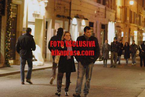 Tiberio Timperi - Roma - 19-12-2008 - Shopping natalizio per Tiberio Timperi e la fidanzata