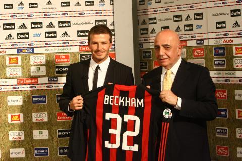 David Beckham - David Beckham conteso tra 'Grande Fratello 9' e Sanremo