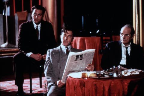 """john costelloe, Steven Hill, Dustin Hoffman - 06-07-2000 - Morto suicida John Costelloe, un attore dei """"Soprano"""""""