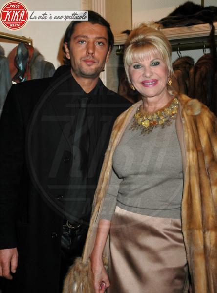 Ivana Trump, Rossano Rubicondi - New York - 08-01-2009 - La coppia Trump-Rubicondi si e' riconciliata