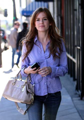 "Isla Fisher - Los Angeles - 15-01-2009 - Isla Fisher si unisce a Johnny Depp per ""Rango"""