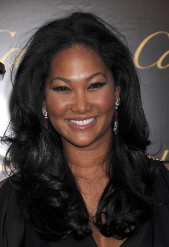 Kimora Lee Simmons - Los Angeles - 19-01-2009 - Kimora Lee Simmons aspetta un figlio da Djimon Hounsou