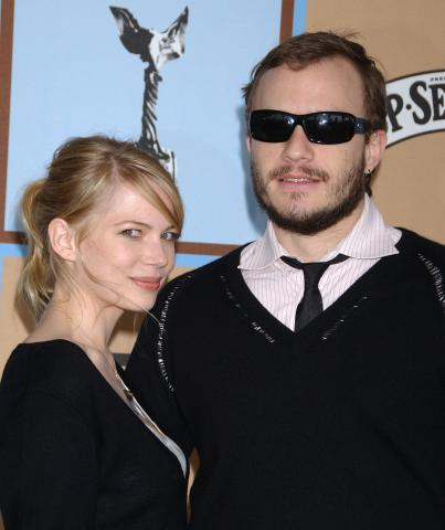 Michelle Williams, Heath Ledger - Los Angeles - 28-11-2008 - Nomination postuma agli Oscar per Heath Ledger