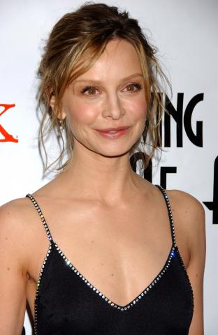 Calista Flockhart - Beverly Hills - 22-01-2009 - Calista Flockhart, fidanzata di Harrison Ford, non ha mai visto Star Wars