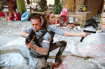 Angelia Jolie, Brad Pitt - Mr. and Mrs. Smith in arrivo in tv