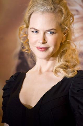 Nicole Kidman - Roma - 04-12-2008 - Nicole Kidman e Hugh Jackman aiutano l'Australia