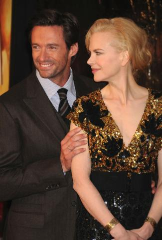 Hugh Jackman, Nicole Kidman - New York - 25-11-2008 - Nicole Kidman e Hugh Jackman aiutano l'Australia