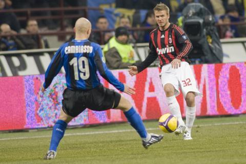David Beckham - Milano - 15-02-2009 - David Beckham tornerà a giocare a Los Angeles
