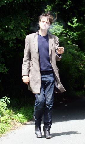 Pete Doherty - Bristol - 23-03-2009 - Pete Doherty scambia i suoi campioni per passare il test antidroga