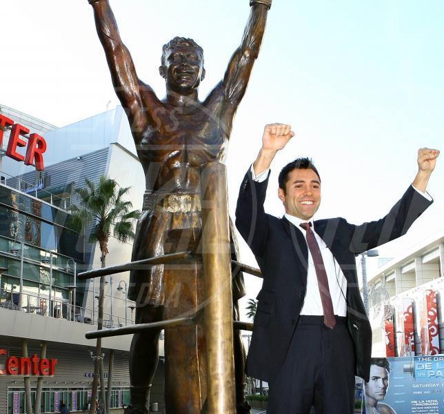 Oscar De La Hoya - Los Angeles - 02-12-2008 - Tutti i personaggi che si sono meritati una statua