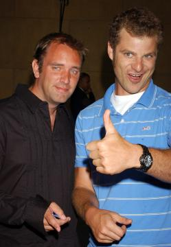 Trey Parker, Matt Stone - Hollywood - 20-07-2005 - La Chiesa di Scientology ha spiato i creatori di South Park