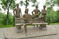 Statua Beatles - Almaty - 31-03-2010 - Tutti i personaggi che si sono meritati una statua