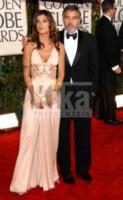 Elisabetta Canalis, George Clooney - Los Angeles - 17-01-2010 - George Clooney smentisce le voci di una rottura con Elisabetta Canalis