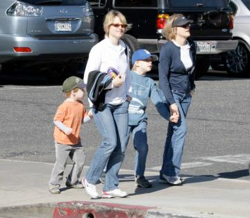 Cydney Bernard, figlie, Kit, Jodie Foster - Santa Monica - Jodie Foster lascia la fidanzata storica Cydney Bernard