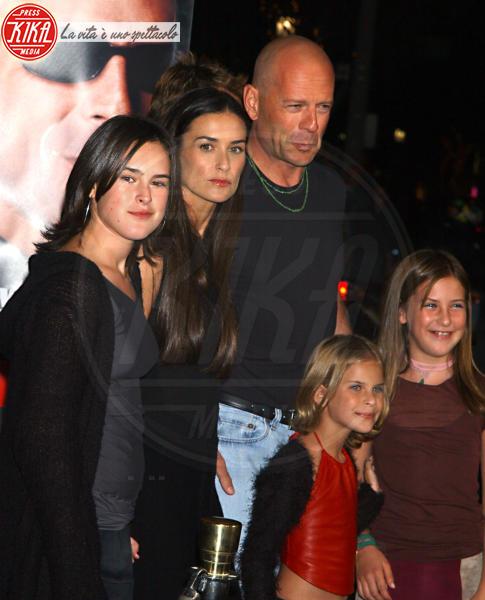Bruce Willis, Demi Moore - Westwood - 04-10-2001 - Heidi Klum e Seal: il divorzio meglio riuscito dello showbiz