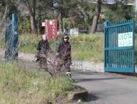 Esplosione Catania - Catania - 10-01-2011 - Esplosione in una fabbrica di fuochi d'artificio del Catanese: due morti e un ferito