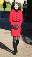 Kate Middleton - St Andrews - 25-02-2011 - Kate Middleton è la signora in rosso… di nuovo!