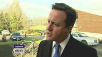David Cameron - Londra - 08-07-2011 - Scandalo intercettazioni in Inghilterra: arrestato Andy Coulson, chiuso il News of The World