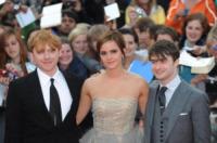 Emma Watson, Daniel Radcliffe, Rupert Grint - Londra - 07-07-2011 - Harry Potter batte ogni record al botteghino