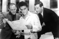 Mike Stoller, Jerry Leiber, Elvis Presley - Los Angeles - 23-08-2011 - Baz Luhrmann ha deciso, il ruolo di Elvis Presley a un outsider