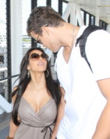 Kris Humphries, Kim Kardashian - Los Angeles - 22-08-2011 - Kim Kardashian torna prima dal viaggio di lavoro in Australia