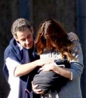 Giulia Sarkozy, Nicolas Sarkozy, Carla Bruni - Versailles - 31-10-2011 - Carla Bruni: