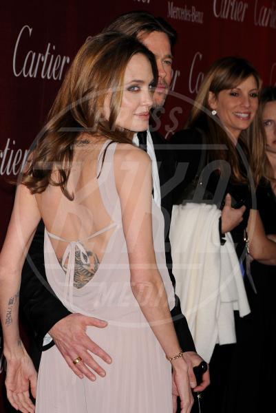Angelina Jolie, Brad Pitt - Palm Springs - 07-01-2012 - Brad Pitt-Angelina Jolie: pronto il contratto prematrimoniale
