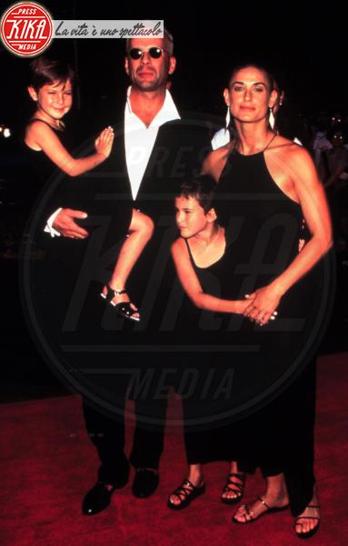 Bruce Willis, Demi Moore - Los Angeles - 24-01-2012 - Heidi Klum e Seal: il divorzio meglio riuscito dello showbiz