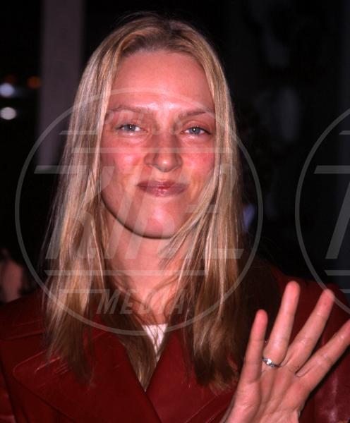 Uma Thurman - New York - 12-01-2000 - Uma Thurman irriconoscibile a causa del bisturi