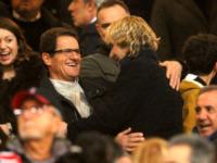 Pavel Nedved, Fabio Capello - 25-02-2012 - Presto potremo rivederlo così: Fabio Capello senza soldi