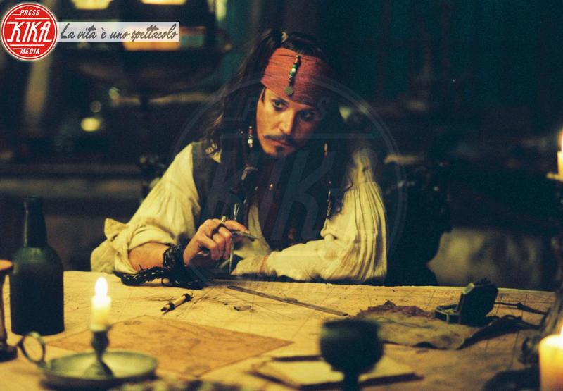 Johnny Depp - 30-03-2012 - Pirati dei Caraibi 5: ecco la prima foto sul set