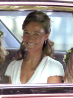 Pippa Middleton - Londra - 29-04-2011 - Guardate dov'è finito il vestito del Royal Wedding di Pippa