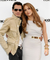Marc Anthony, Jennifer Lopez - Los Angeles - 18-11-2010 - Jennifer Lopez è single anche per la legge