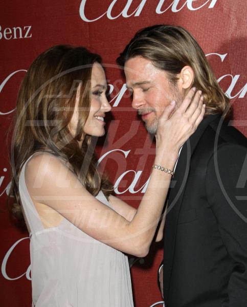 Angelina Jolie, Brad Pitt - Palm Springs - 08-01-2012 - Brad Pitt-Angelina Jolie: pronto il contratto prematrimoniale