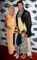 Liam Aaron McDermott, Stella Doreen McDermott, Dean McDermott, Tori Spelling - Los Angeles - 15-04-2012 - Jessica Biel: un figlio per salvare il matrimonio?