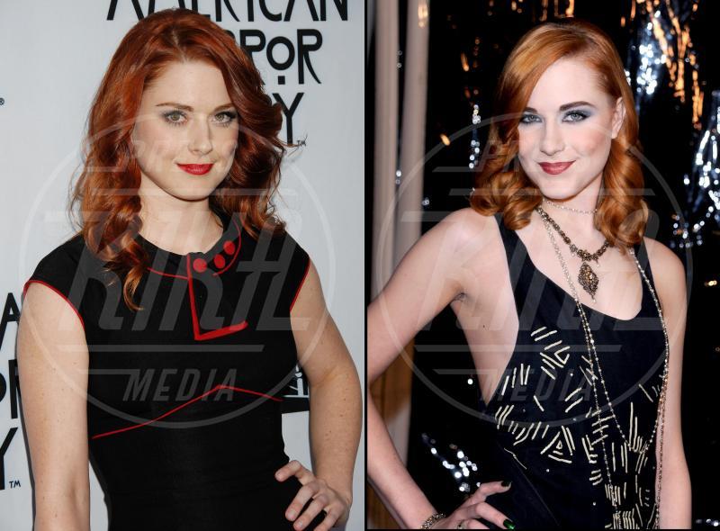 Alexandra Breckenridge, Evan Rachel Wood - Hollywood - 28-11-2014 - Maeve o Harley Quinn? Quando le star sembrano clonate