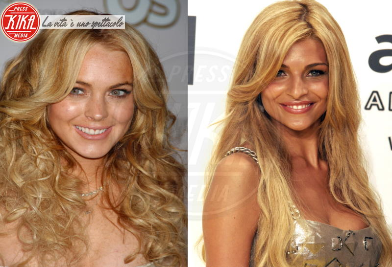 Cristina Chiabotto, Lindsay Lohan - 09-03-2012 - Separati alla nascita: ma siete identici!