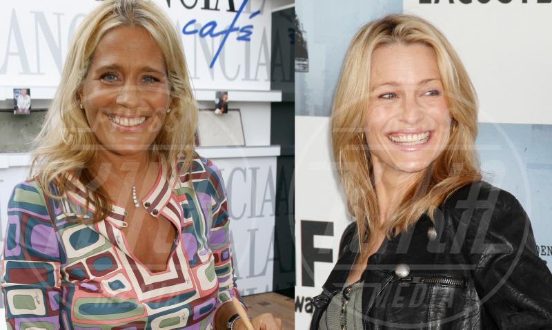 Heather Parisi, Robin Wright - Hollywood - 28-11-2014 - Separati alla nascita: ma siete identici!
